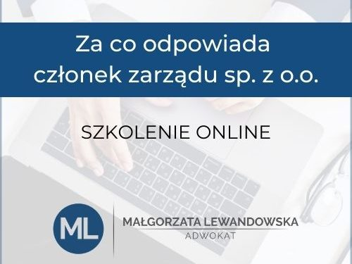 Małgorzata Lewandowska- Adwokat dla Biznesu
